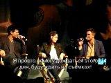 •LA Twilight Convention Robert Pattinson, Taylor Lautner, Kristen Stewart  Breaking Dawn Talk (русские субтитры)•