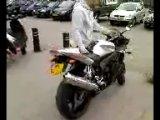 Yamaha R6 Yoshimura exhaust revving