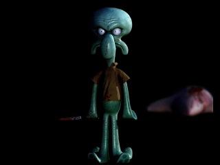 Spongebob Squarepants Squidward's Suicide