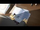 Русское аниме. Короткометражный мультфильм за авторством Рината Тимеркаева, по стилистике напоминающий работы Макото Синкая