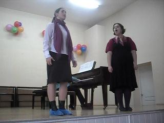 Бассма и Настюша*