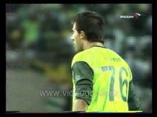 Спортинг - ЦСКА 3:1. Финал Кубка УЕФА 2004-2005. Гол Вагнера.