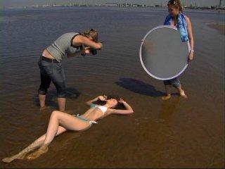 FASHION-ЖАРА - морская съемка в одежде KAWAICAT от SUSANNA MODELS (2 июля 2010)