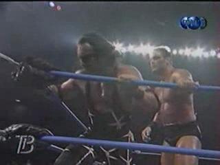 WCW NITRO 30.10.2000 - Титаны Рестлинга на канале ТНТ / Николай Фоменко