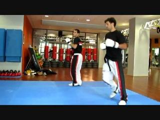 INTENSIVE POINT FIGHT TRAINING DIDACTICS  de marco jumpkick.wmv
