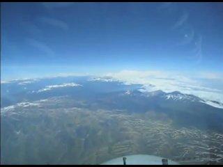 Вид из кабины пилота Боинг 747