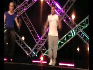 Танцуют все 3 Киев вечерняя хореография у Влада Ямы