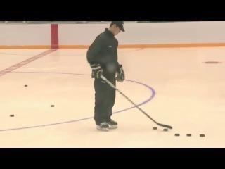 Sidney Crosby Pyramid trick (Трюк Кросби с пирамидой)