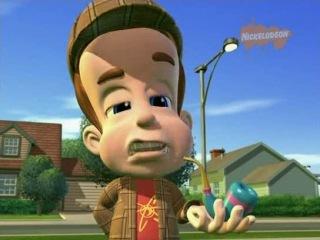 Приключения Джимми Нейтрона, мальчика-гения - 1 сезон 11(2) серия Шина обокрали