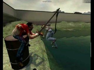 Half-Life 2 - Gmod ( камеди-клаб - Наша Таня Громко Плачет ) х