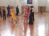 Турнир по бальным танцам г. Уфа юниоры-1 латино - американская программа