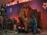 Bad Santa played by Tony Cox &amp Bernie Mac