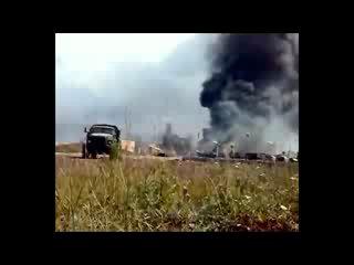 Атака грузинской армии на российских миротворцев в Южной Осетии Цхинвал 8 августа 2008.
