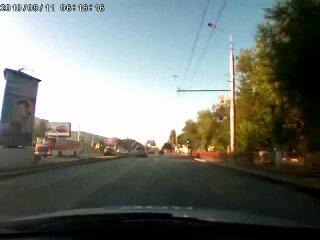 погоня за маршруткой 15С в Кировском р-не г.Волгоград