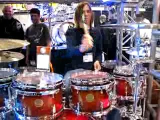 Drummer video namm 2008 - keith at the ddrum booth