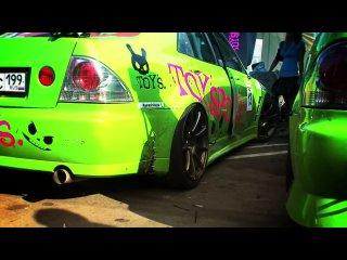 Green Toyota Altezza Fendi and Shick