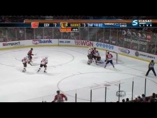 НХЛ 2011. Чикаго Блэкхоукс - Калгари Флеймз (05.12.2010)