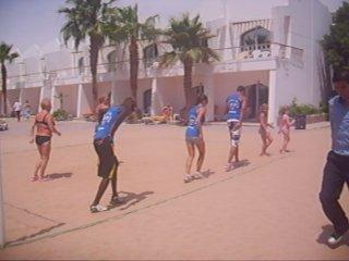 Египет 2010. Анимация на пляже. Опа-опа.