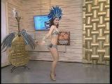 Бразильская самба с Викторией Щегловой на канале ТДК