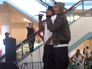 JLS - Stand By Me Beautiful Girls(Orland Square Mall (LIve))