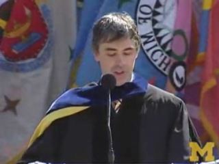 Larry Page's University of Michigan Commencement Address