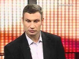 Виталий Кличко про поединок с Одланьером Солисом и Спанч Бобом ( В гостях у