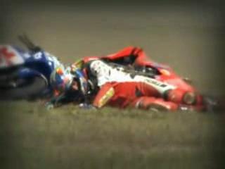 Moto gp crash