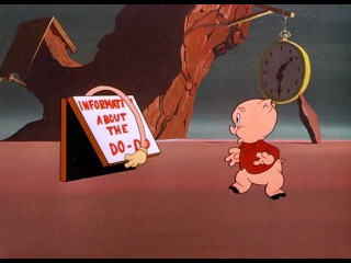1949-09-02 WB - Dough for the Do-Do - Porky Pig - Merrie Melodies BR - Isadore 'Friz' Freleng