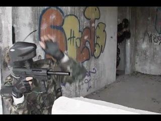 Тактический пейнтбол - Бой в здании