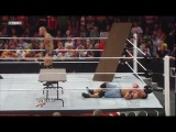 John CENA and Randy ORTON VS Nexus & Edge & Jericho & Sheamus