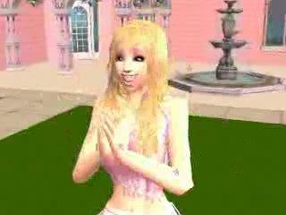 Barbie girl - aqua sims 2