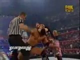 The Rock and Trish Stratus vs The Dudley Boyz and Stacy Keibler