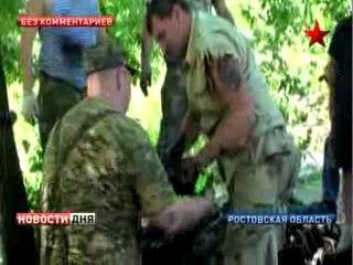 Со дна реки Миус подняли Т-34 ( видео 1)
