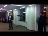 Сенсация: Первое видео с Павлом Дуровым! В офисе ВКонтакте появилась новая игрушка :)