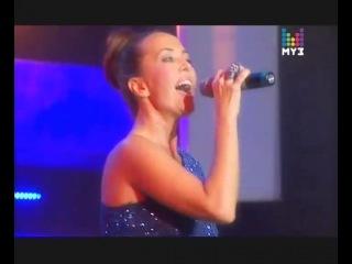 Жанна Фриске - А на море белый песок (Live @ Горячая 10-ка МУЗ-ТВ)