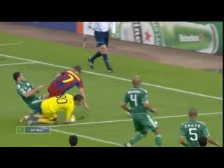 ЛЧ 2010-2011. 5 тур. Панатинаикос - Барселона 0:3 (Обзор)