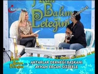 Petek Dinçöz - dar deri pantolon dans ve kalça show