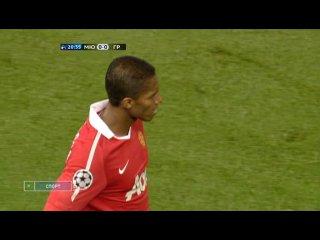 Лига чемпионов 2010 11 1 й тур Группа C Манчестер Юнайтед Англия Глазго Рейнджерс Шотландия НТВ 1 тайм
