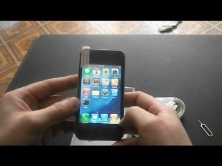 Видео-Обзор лучшей реплики IPhone 4G с одной сим картой без ТВ! СЕНСАЦИЯ!