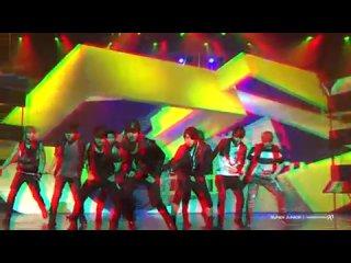 [hd 3d] super junior - boom boom (live)