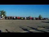 ЗАЗ 968М vs corvette c6(Кривой рог)