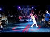 Beat Street 2010 Харитонова Катя (The First Crew) vs Кованько Роман (The First Crew)