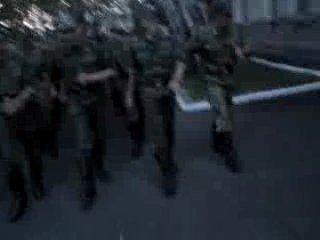 Дембельский марш в ВЧ 72483
