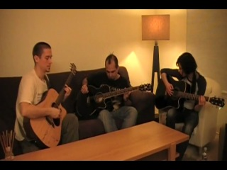 Zombie Inc In Flames Acoustic Trio Cover Performed By Metacoustic,