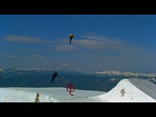 Danny Kass and Scotty Lago 100 Foot Jump Session