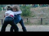 Радка и Катя(про борцов)