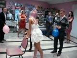 Отличный конкурс на свадьбе))))