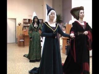 бургундскийй бассаданс Danse de Cleves (сценический)