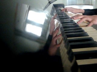 Имперский марш на пианино