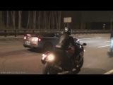 Nissan Skyline Gt-r r35 vs Suzuki Hayabusa